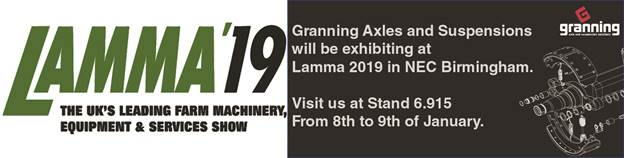 Granning Axles at Lama 20129
