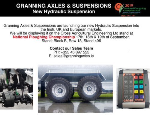 Granning Axles & Suspensions New Hydraulic Suspension