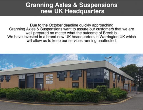 Granning Axles & Suspensions new UK Headquarters